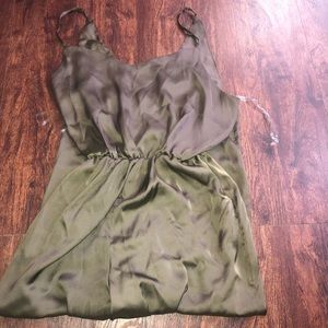 Rue 21 olive green jump suit